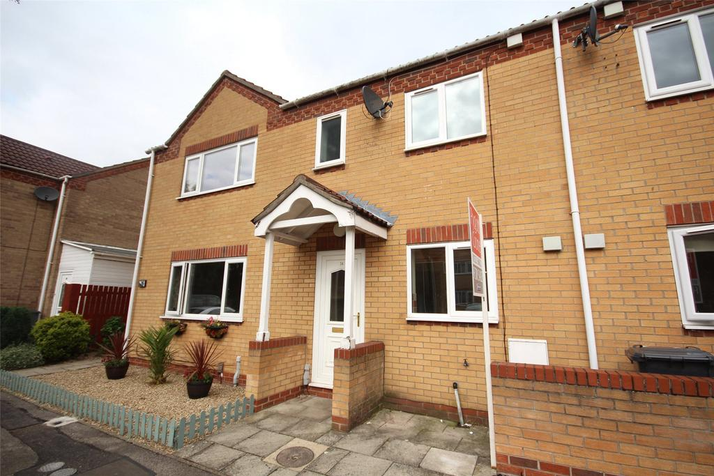 2 Bedrooms Terraced House for sale in Sixfield Close, Lincoln, LN6