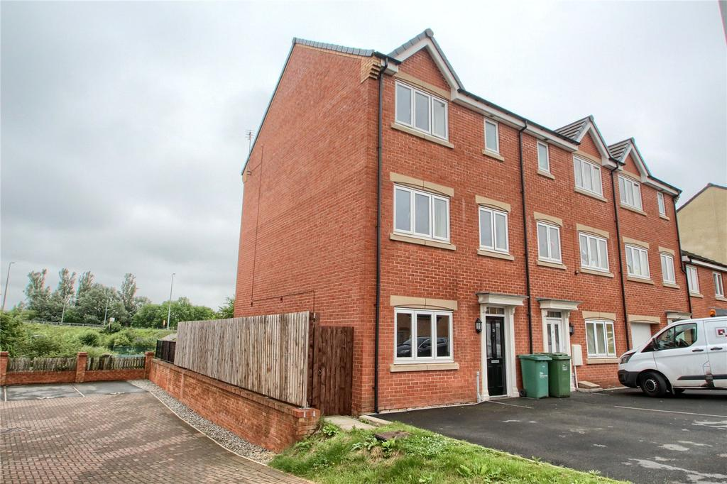 4 Bedrooms End Of Terrace House for sale in Mulberry Wynd, Stockton On Tees