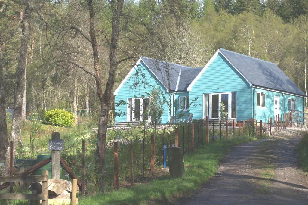 3 Bedrooms Bungalow for sale in Balvaig Cottage, Culrain, Ardgay, Highland, IV24