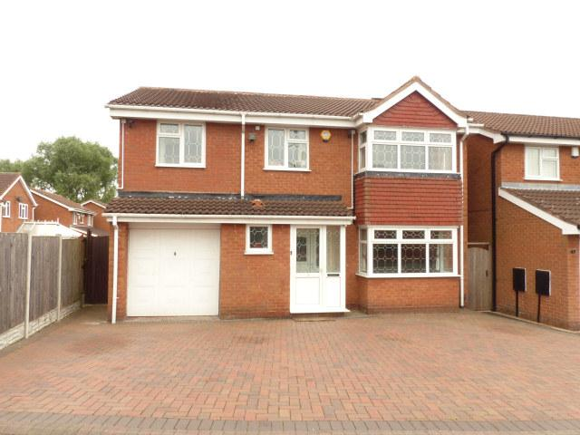 6 Bedrooms Detached House for sale in Brook Meadow Road,Shelfield,Walsall