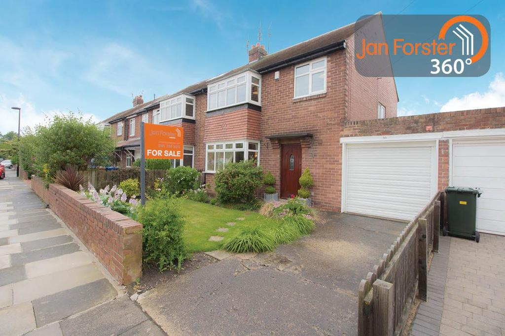 3 Bedrooms Semi Detached House for sale in Briarfield Road, Newcastle Upon Tyne