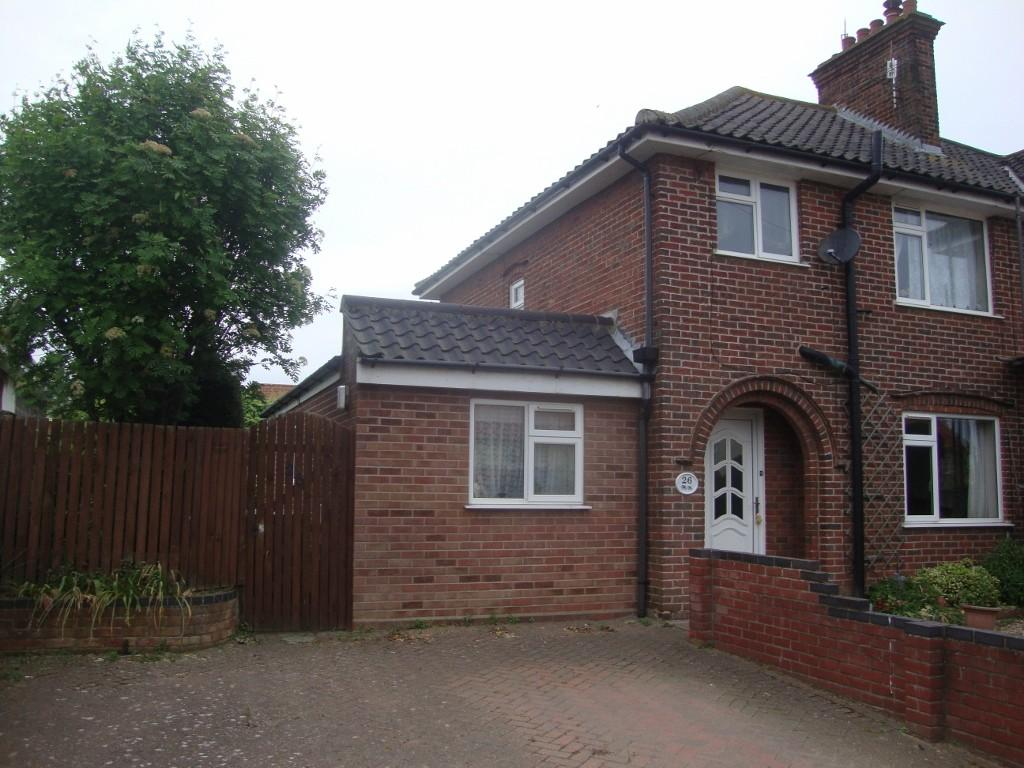 4 Bedrooms Semi Detached House for sale in Common Lane, Sheringham, Norfolk