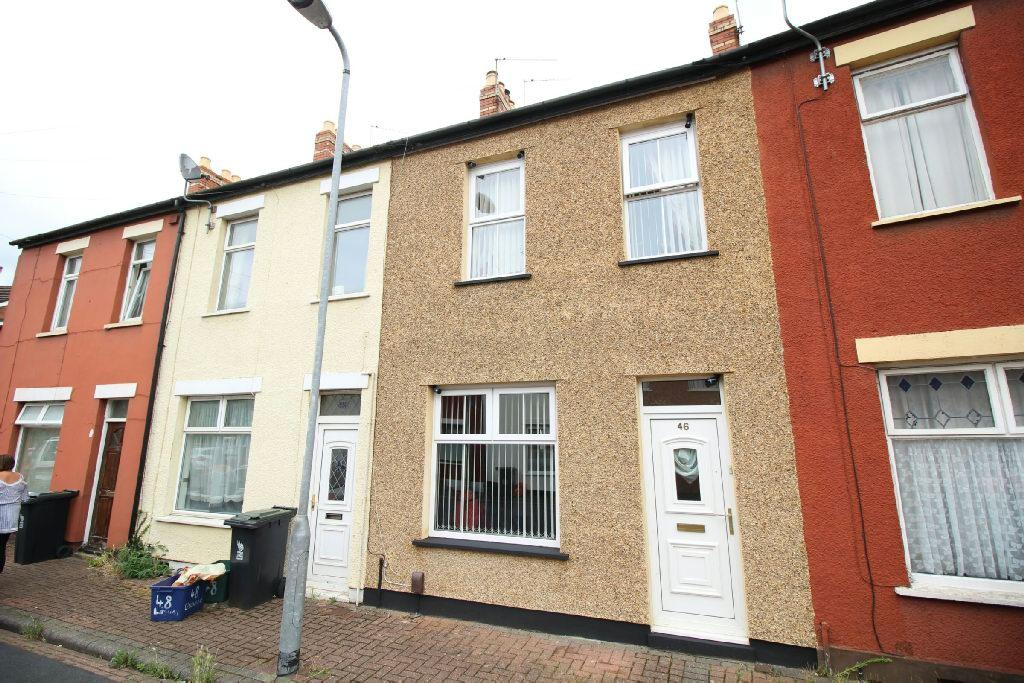 3 Bedrooms Terraced House for sale in Liscombe Street, Newport
