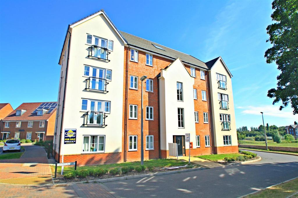 2 Bedrooms Apartment Flat for sale in Antigua Way, Bletchley, Milton Keynes