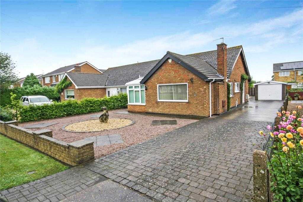 2 Bedrooms Semi Detached Bungalow for sale in Station Road, Branston, Lincoln, Lincolnshire, LN4