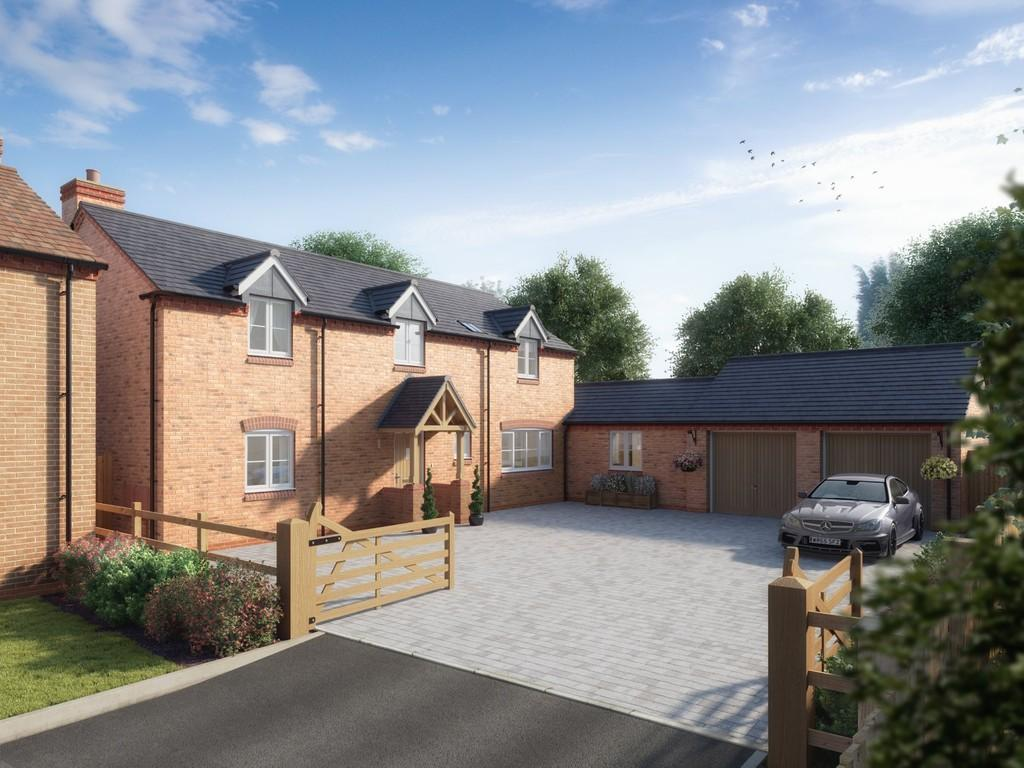 4 Bedrooms Detached House for sale in Ashwood, School Road, Hockley Heath