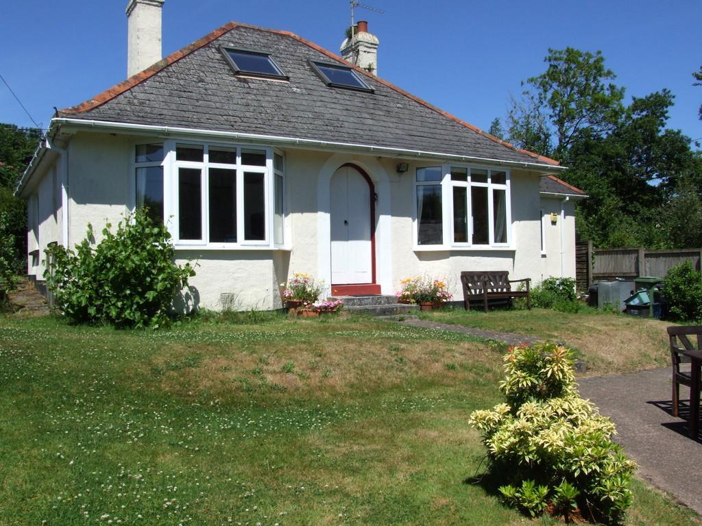 3 Bedrooms Detached Bungalow for sale in Bridford, Devon