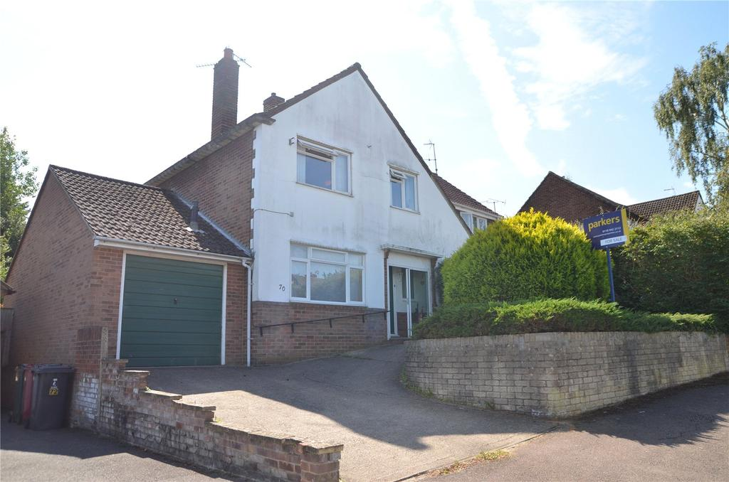 3 Bedrooms Semi Detached House for sale in Brooksby Road, Tilehurst, Reading, Berkshire, RG31