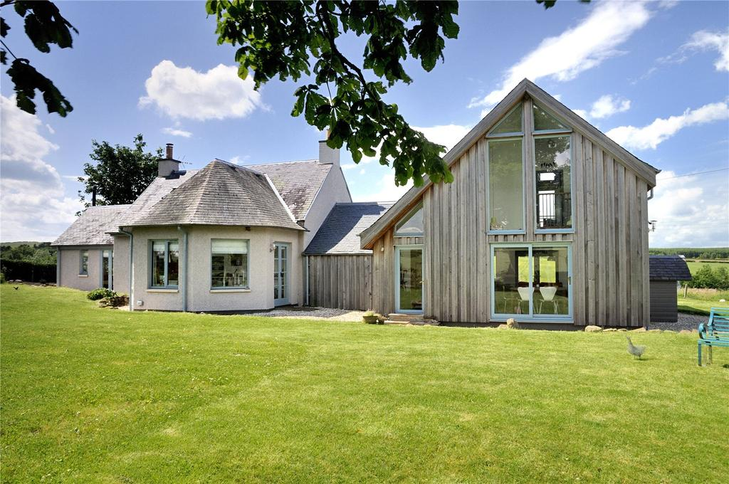 4 Bedrooms Detached House for sale in Newbigging Townhead, Oxnam, Jedburgh, Scottish Borders