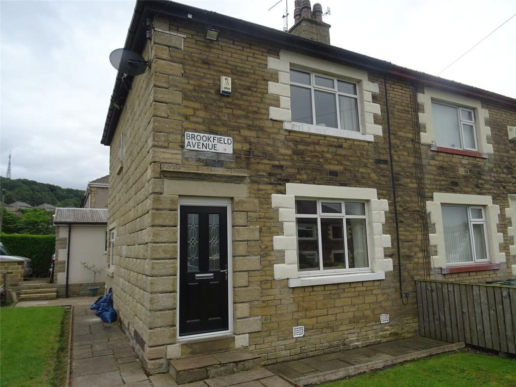 2 Bedrooms Semi Detached House for sale in Brookfield Avenue, Shipley, West Yorkshire, BD18