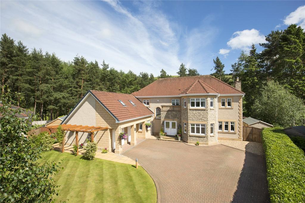 6 Bedrooms Detached House for sale in Pinewood House, 4 Pikes Knowe Court, Cardrona, Peeblesshire, EH45