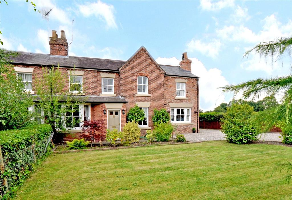 4 Bedrooms Semi Detached House for sale in Parkgate Road, Saughall, Chester, CH1
