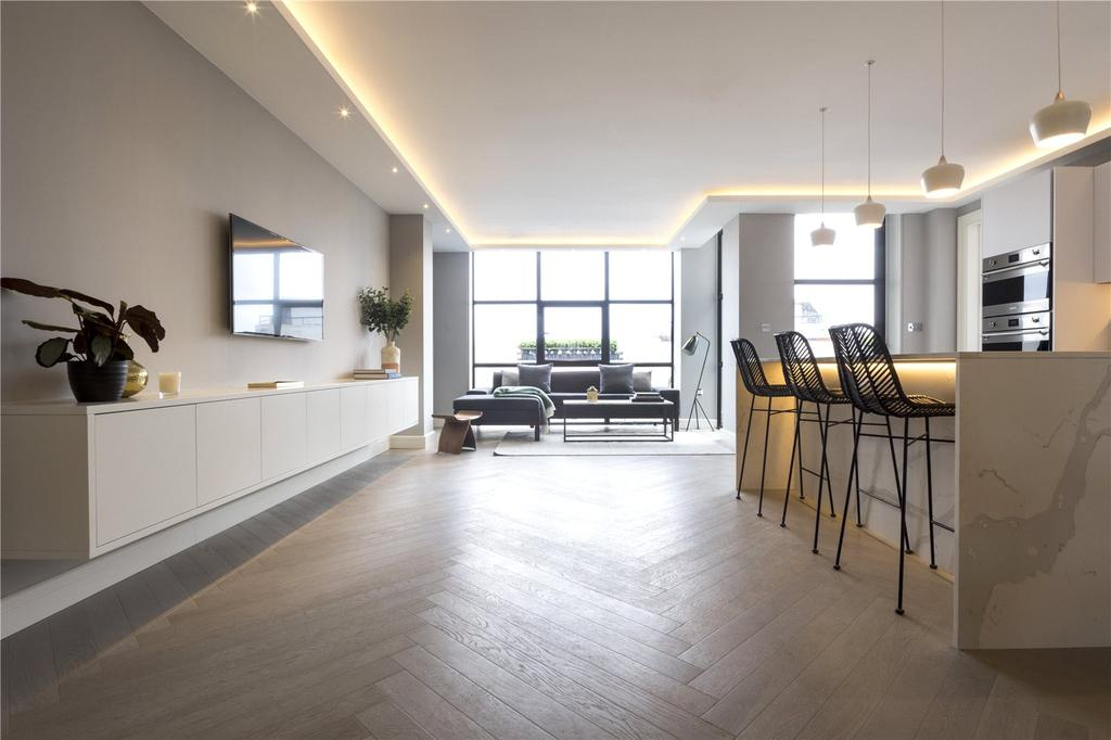 3 Bedrooms Penthouse Flat for sale in Long Island House, Warple Way, London, W3