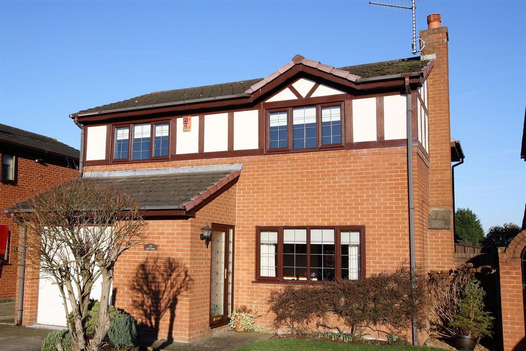 4 Bedrooms Detached House for sale in The Links, Borras, Wrexham, LL11 3PZ