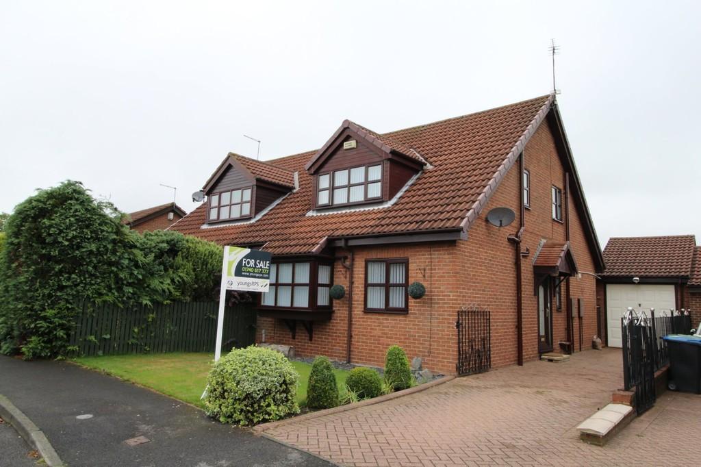 2 Bedrooms Detached Bungalow for sale in Harwood Court, Trimdon Grange
