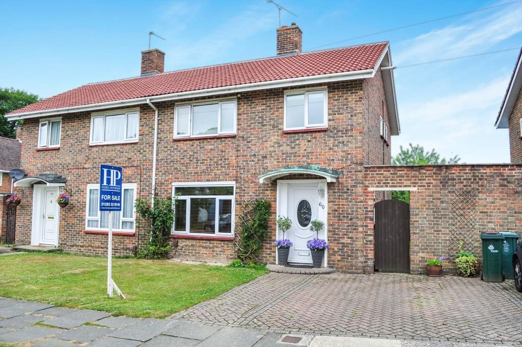 3 Bedrooms Semi Detached House for sale in Oxford Road, Tilgate