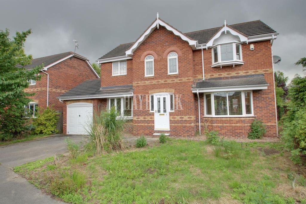 4 Bedrooms Detached House for sale in Mcloughlin Way, Kiveton Park