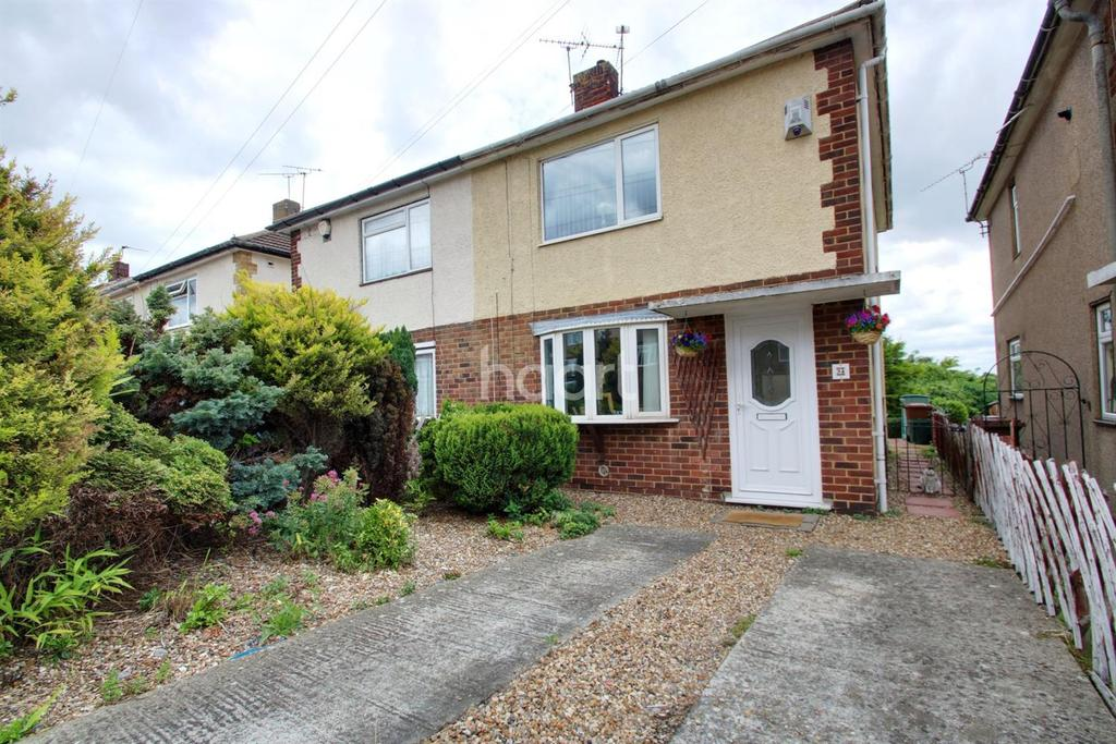 2 Bedrooms Semi Detached House for sale in Crestway, Chatham