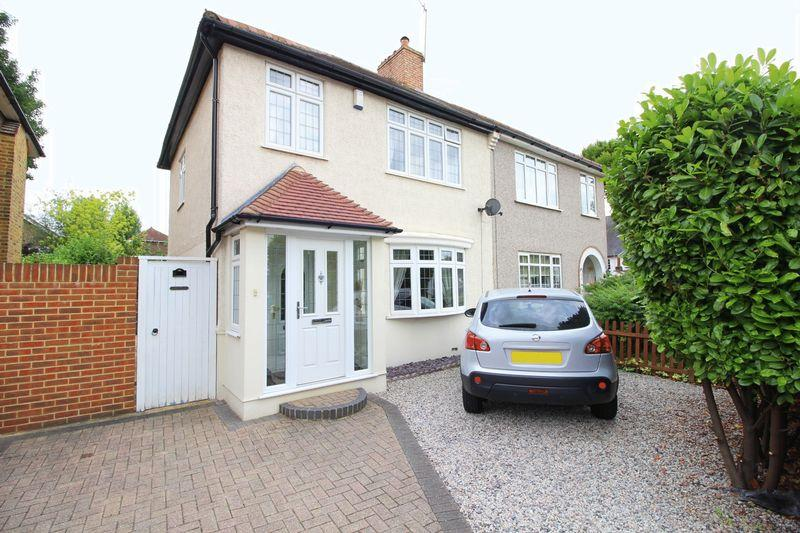 3 Bedrooms Semi Detached House for sale in Sidcup Hill, Sidcup, DA14 6JS
