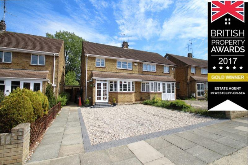 3 Bedrooms Semi Detached House for sale in Richmond Drive, Westcliff-On-Sea
