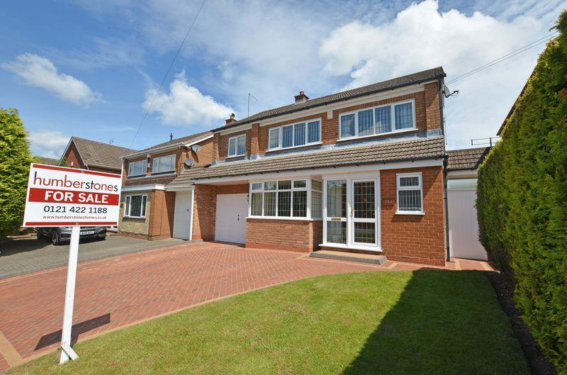 4 Bedrooms Detached House for sale in Wolverhampton Road, Oldbury
