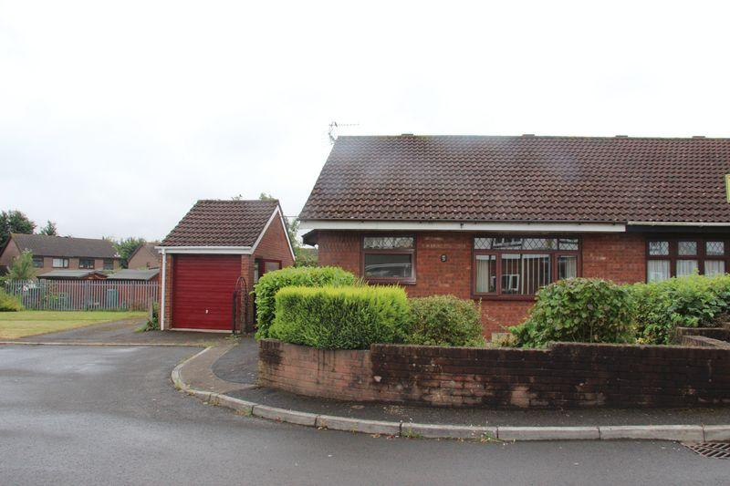 2 Bedrooms Semi Detached Bungalow for sale in Deepweir Gardens, Caldicot