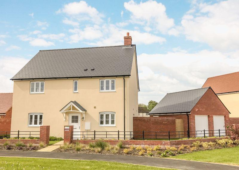 4 Bedrooms Detached House for sale in Jacksmeadow, Uffington