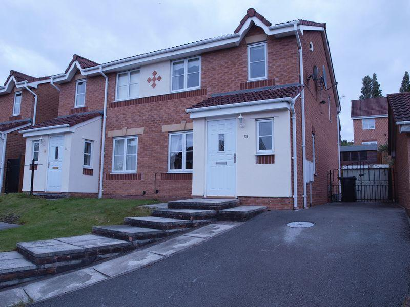 4 Bedrooms Semi Detached House for sale in Burnside Way, Winnington, CW8 4XR