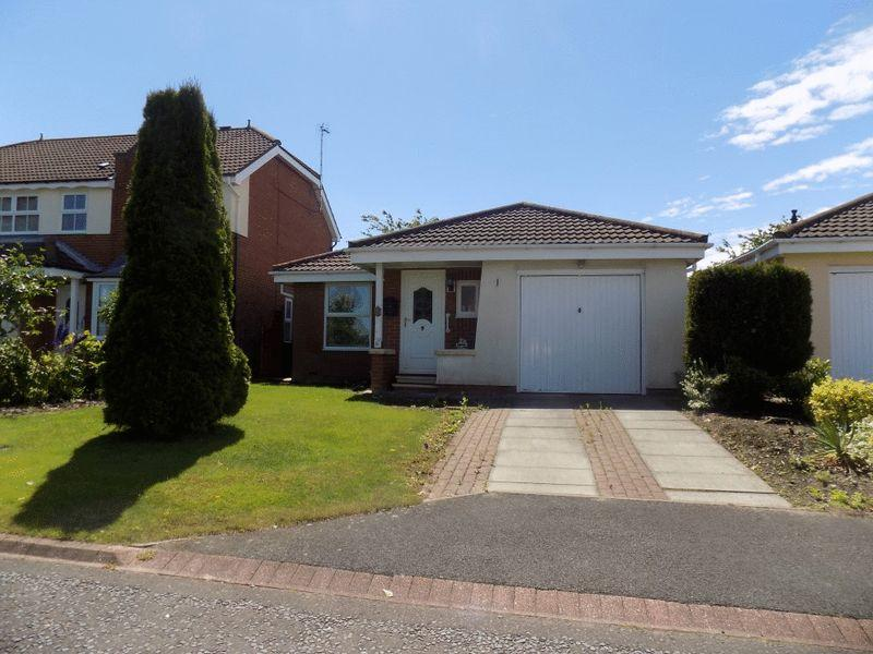 2 Bedrooms Bungalow for sale in Oakapple Close, Bedlington