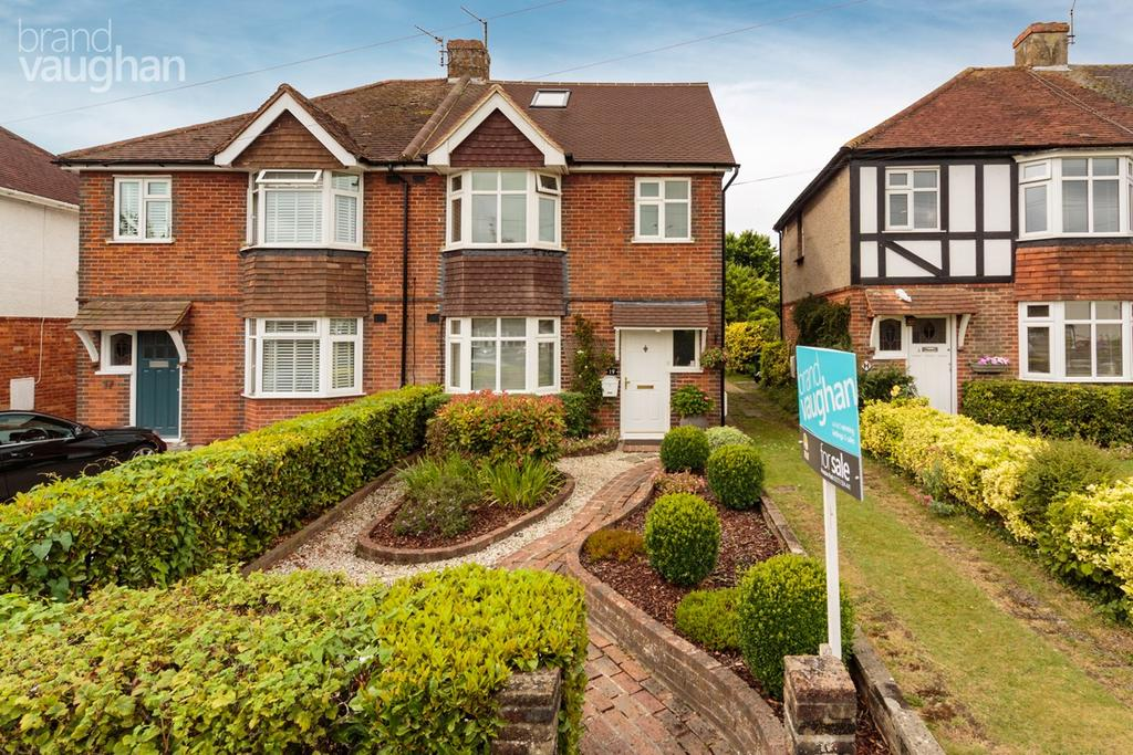 4 Bedrooms Semi Detached House for sale in Vale Avenue, Brighton, BN1
