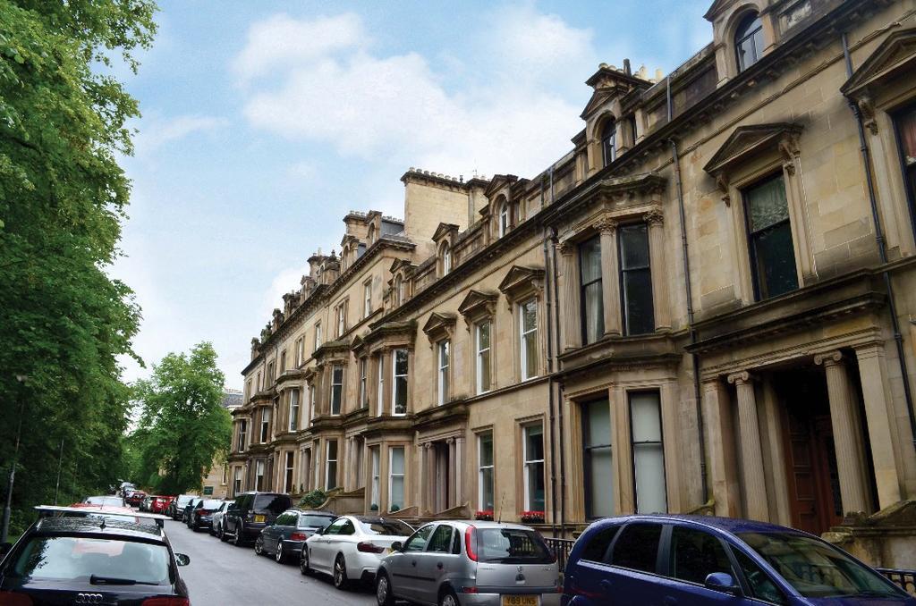 2 Bedrooms Flat for sale in Devonshire Terrace, Flat 2, Kelvinside, Glasgow, G12 0XE