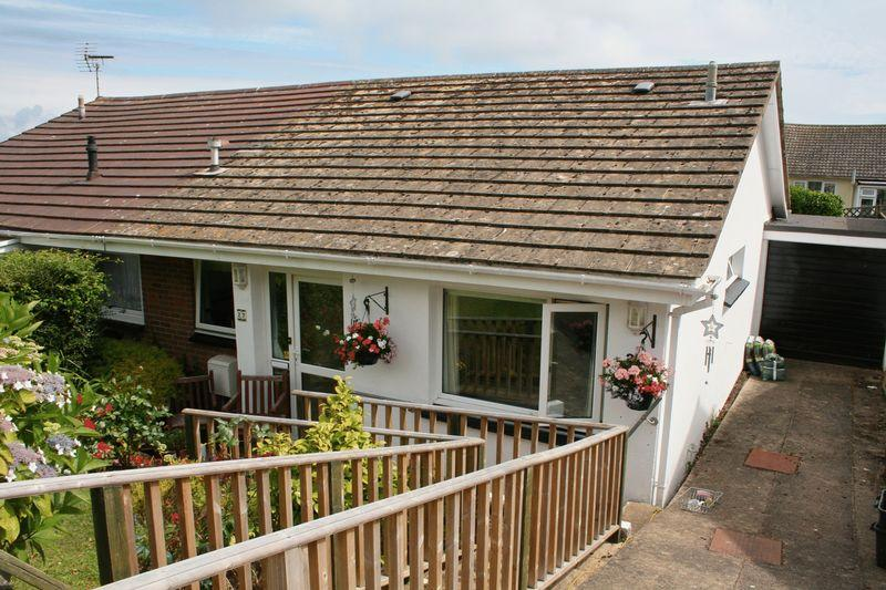 2 Bedrooms Semi Detached Bungalow for sale in Milton Crescent, Brixham
