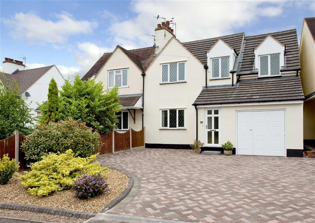 4 Bedrooms Semi Detached House for sale in 44, Station Road, Wombourne, Wolverhampton, South Staffordshire, WV5