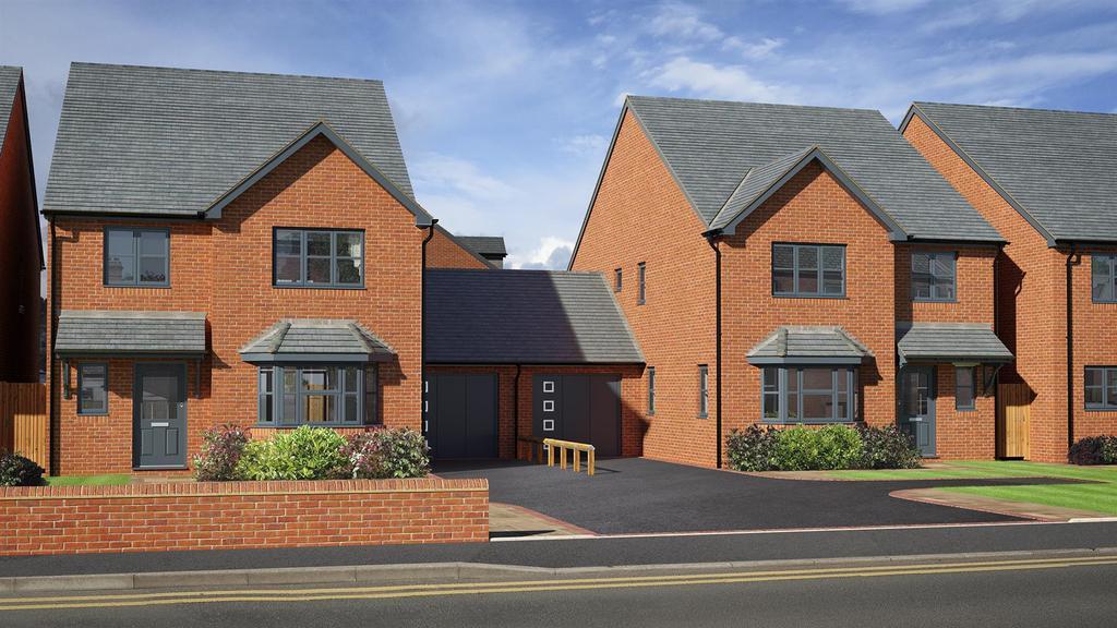 4 Bedrooms Link Detached House for sale in Sedgley Gardens, Sedgley Road West, Tipton