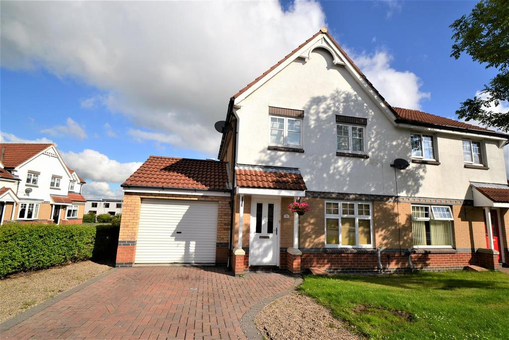 3 Bedrooms Semi Detached House for sale in Rushmoor, Spennymoor