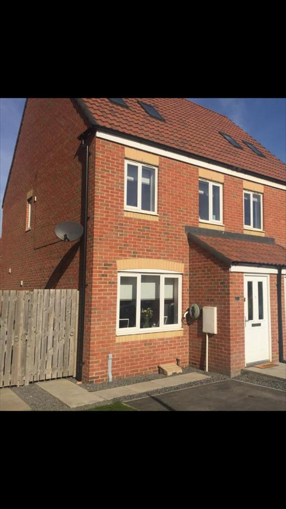 3 Bedrooms Semi Detached House for sale in Rothbury Drive, Portland, Ashington