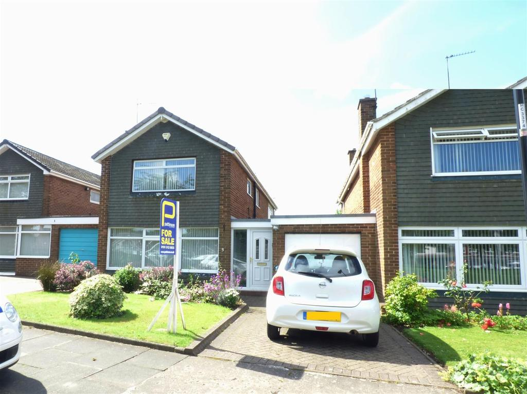 3 Bedrooms Detached House for sale in Long Acre, Houghton Le Spring