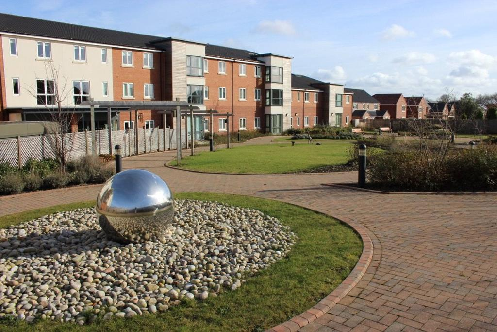 2 Bedrooms Apartment Flat for sale in Weetslade Court, Five Mile Park, Wideopen, Newcastle Upon Tyne