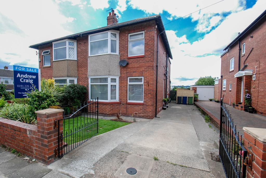 3 Bedrooms Semi Detached House for sale in Ambleside Avenue, South Shields