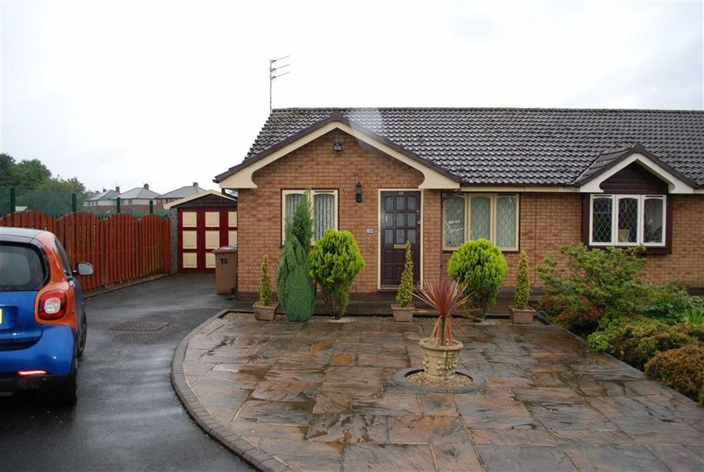 2 Bedrooms Semi Detached Bungalow for sale in Tregaer Fold, Manchester