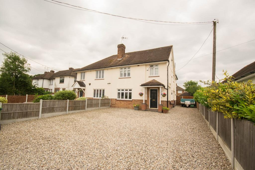 4 Bedrooms Semi Detached House for sale in Rayleigh Road, Hutton, Brentwood, Essex, CM13