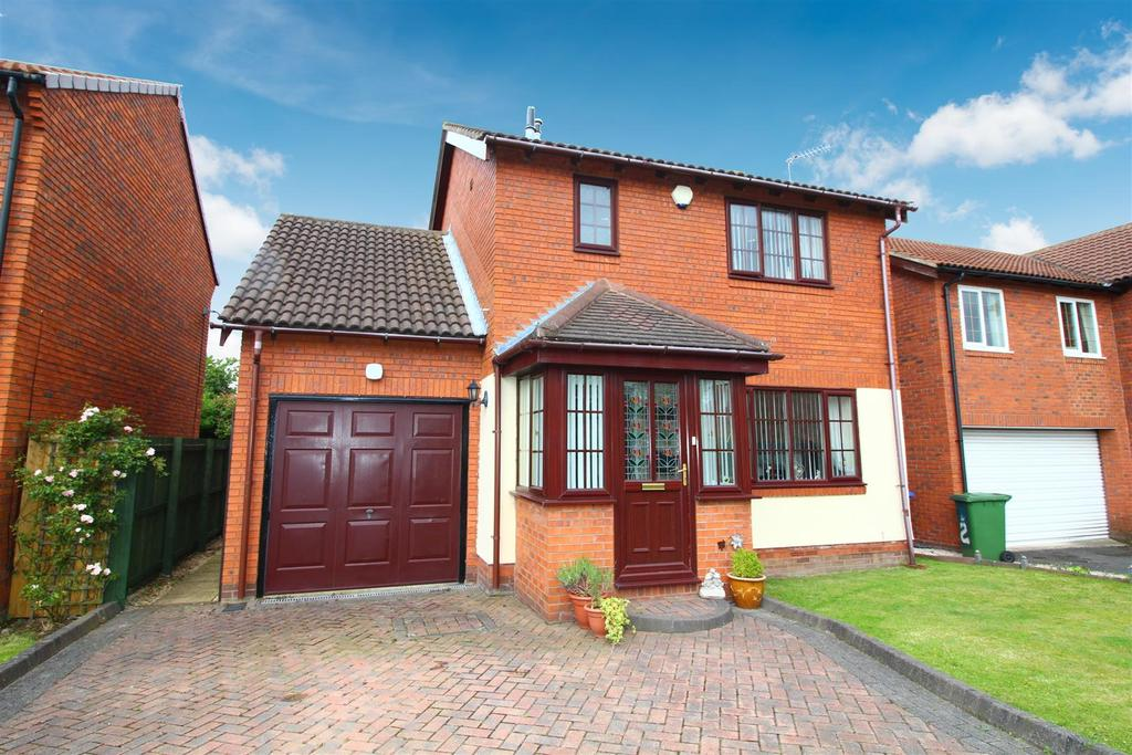 3 Bedrooms Detached House for sale in Thornbury Avenue, Seghill, Cramlington
