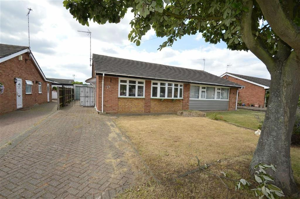 2 Bedrooms Semi Detached Bungalow for sale in Harewood Avenue, Rochford, Essex