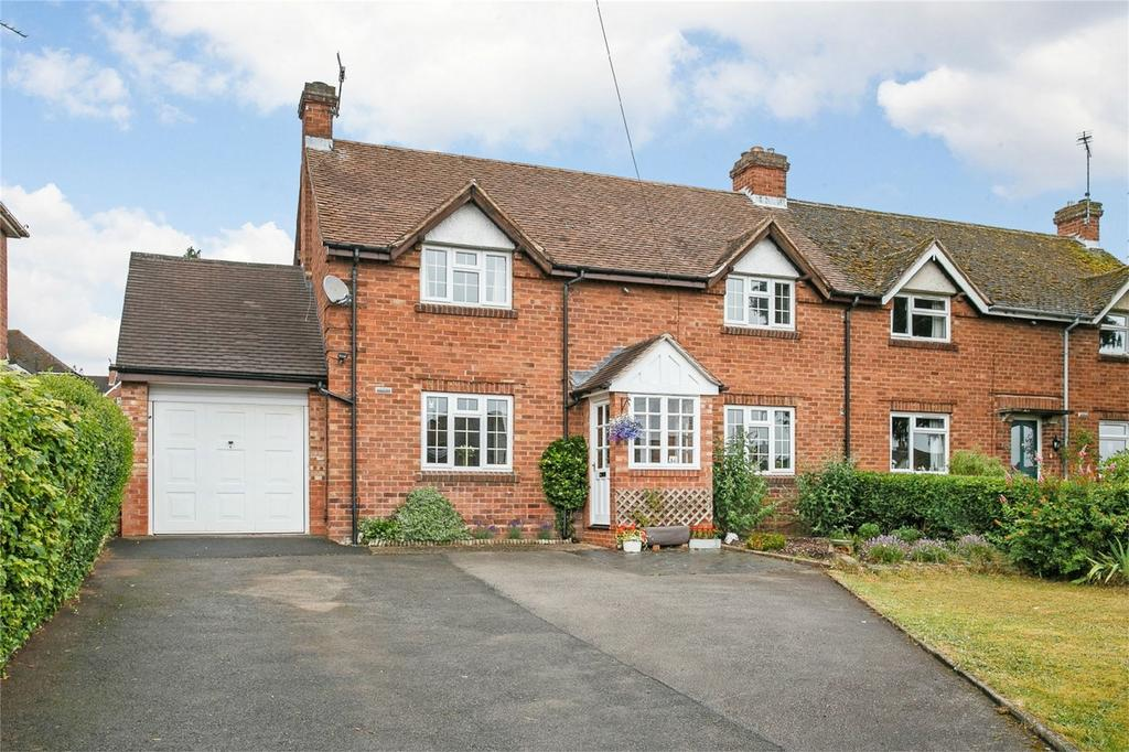 4 Bedrooms Semi Detached House for sale in Fairfield Lane, Wolverley, Kidderminster, Worcestershire