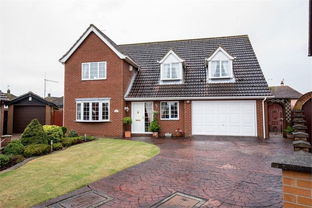 4 Bedrooms Detached House for sale in Lyn Ellis Close, Fishtoft, Boston, Lincolnshire