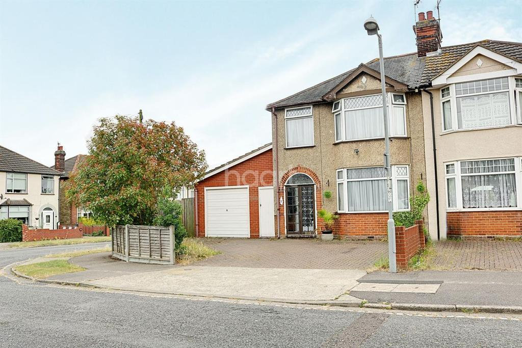 3 Bedrooms Semi Detached House for sale in St Leonards Road, Ipswich