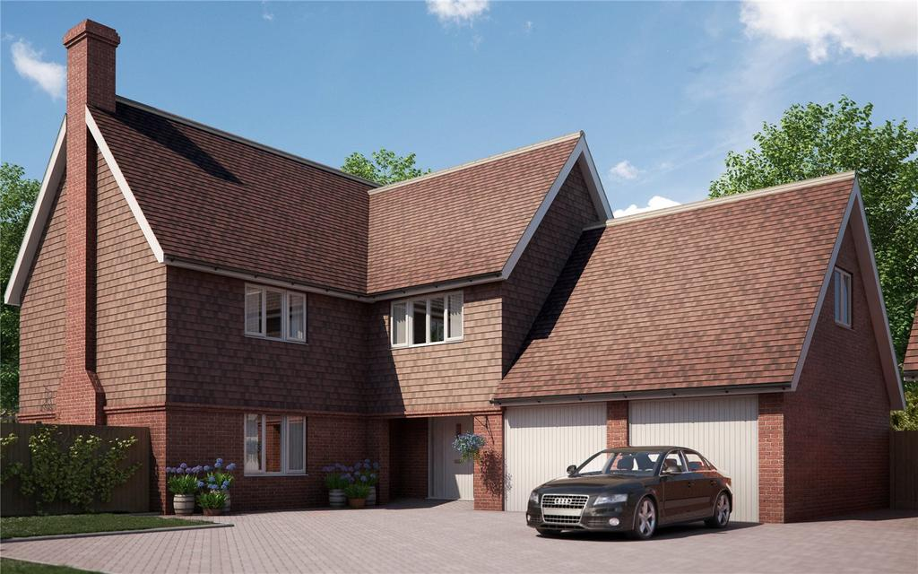 5 Bedrooms Detached House for sale in Malthouse Lane, Meath Green Lane, Horley, Surrey, RH6