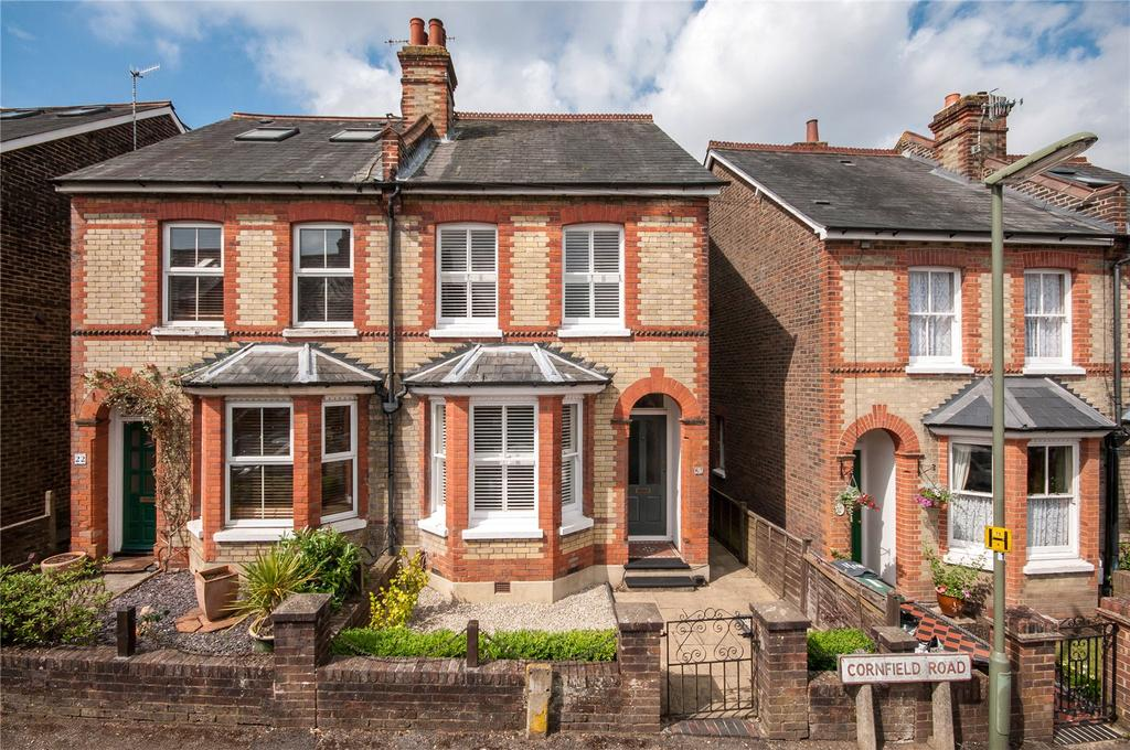 3 Bedrooms Semi Detached House for sale in Cornfield Road, Reigate, Surrey, RH2