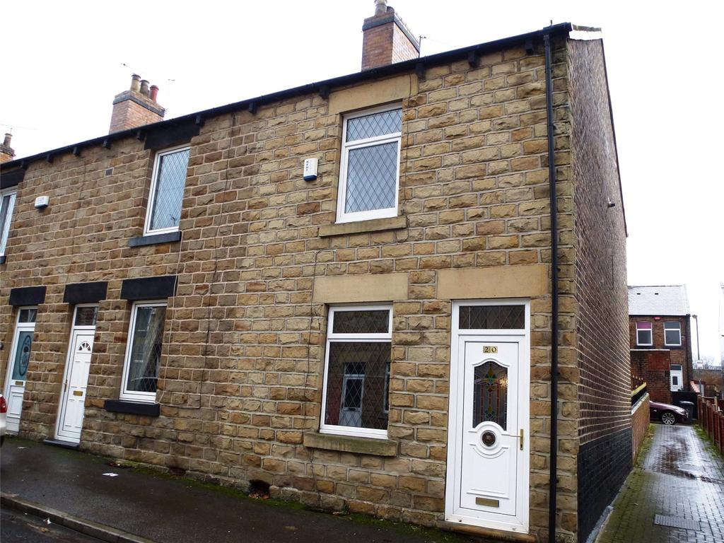 2 Bedrooms End Of Terrace House for sale in Gordon Street, Stairfoot, Barnsley, S70