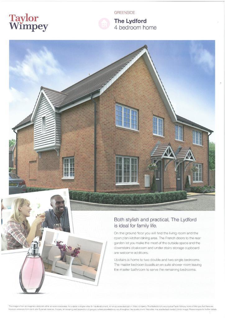 4 Bedrooms Semi Detached House for sale in Plot 27 Greenside, Littlehampton Road, Ferring, West Sussex, BN12 6PN
